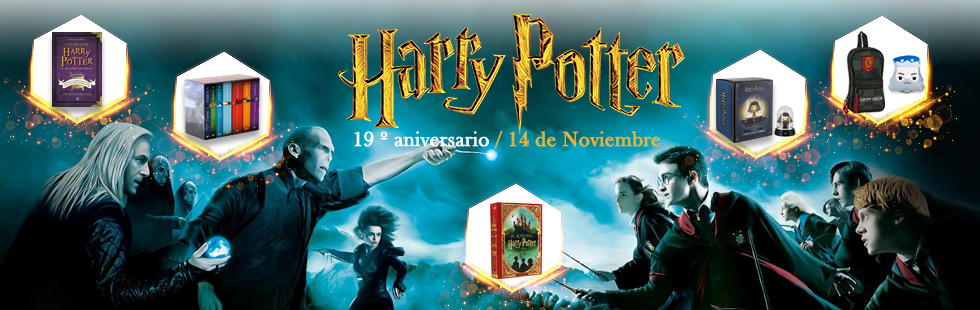Harry Potter aniversario